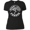 Mommy Loves Powder White Next Level Ladies' Shirt - Powderaddicts