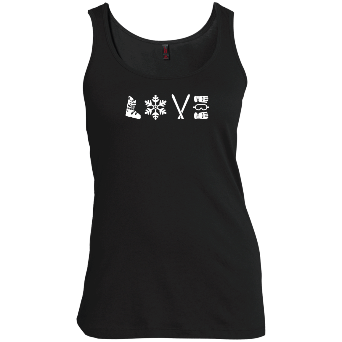 Love Ski - Tank Tops - Powderaddicts