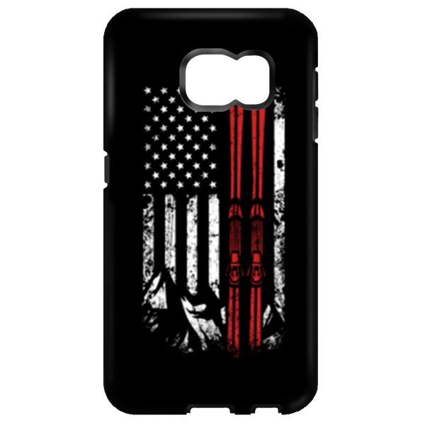 USA Ski Flag Phone Cases