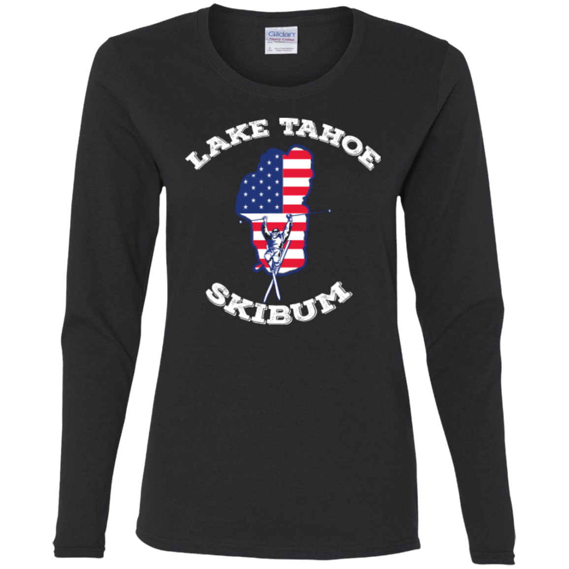 Lake Tahoe Ski Bum Long Sleeves - Powderaddicts