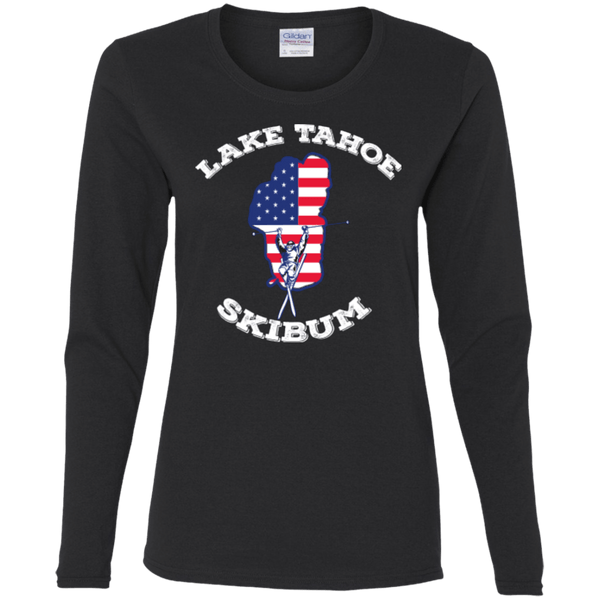 Lake Tahoe Ski Bum Long Sleeves