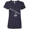 One Way To Paradise Ladies Tees and V-Neck - Powderaddicts