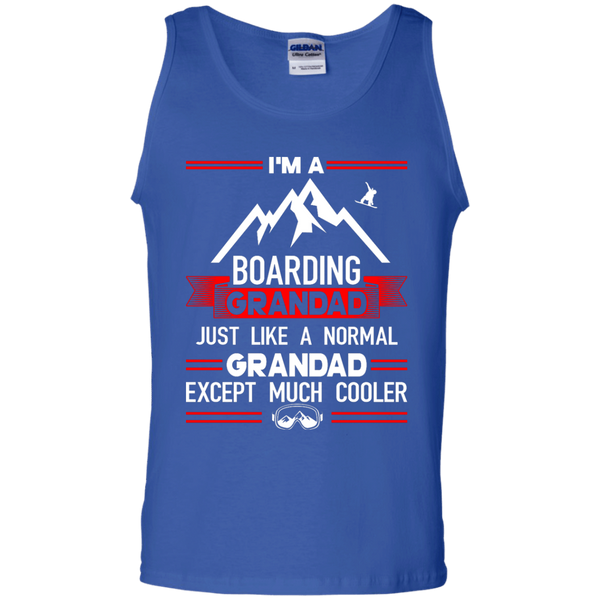 I'm A Boarding Grandad Just Like A Normal Grandad Except Much Cooler Tank Tops
