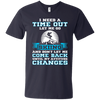 I Need A Time Out Let Me Go Skiing And Don't Let Me Come Back Until My Attitude Changes Tees - Powderaddicts