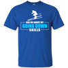 Ask Me About My Going Down Skills - Ski Men's Tees and V-Neck - Powderaddicts