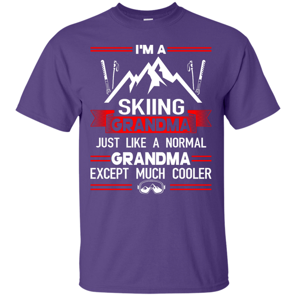 I'm A Skiing Grandma Except Much Cooler Tees