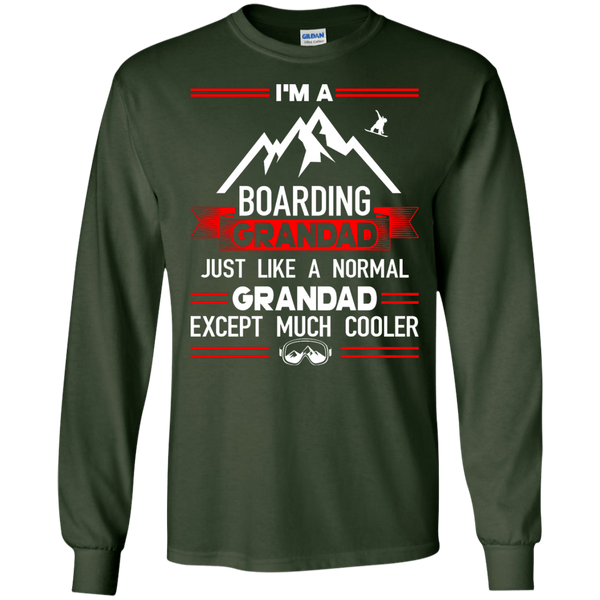 I'm A Boarding Grandad Just Like A Normal Grandad Except Much Cooler Long Sleeves