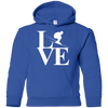 Love Skiing Youth Hoodies - Powderaddicts