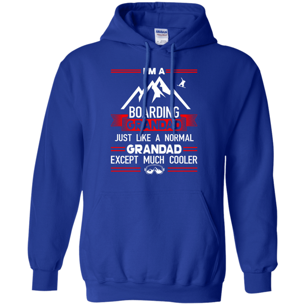 I'm A Boarding Grandad Just Like A Normal Grandad Except Much Cooler Hoodies
