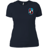 Ski Flag Ladies Tees and V-Neck - Powderaddicts