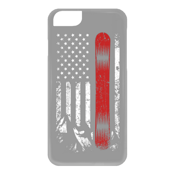 USA Snowboard Flag Phone Cases