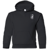 USA Snowboard Flag Youth Hoodies - Powderaddicts