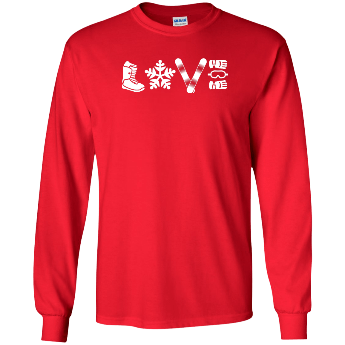 Love Snowboarding Long Sleeves - Powderaddicts