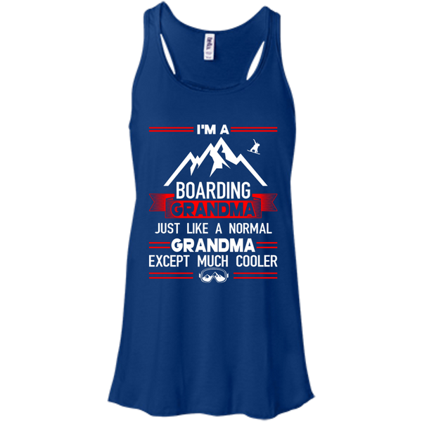 I'm A Boarding Grandma Just Like A Normal Grandma Except Much Cooler - Tank Tops - Powderaddicts