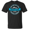 On Top Of The Mountains Where Everything Makes Sense Men's Tees and V-Neck - Powderaddicts