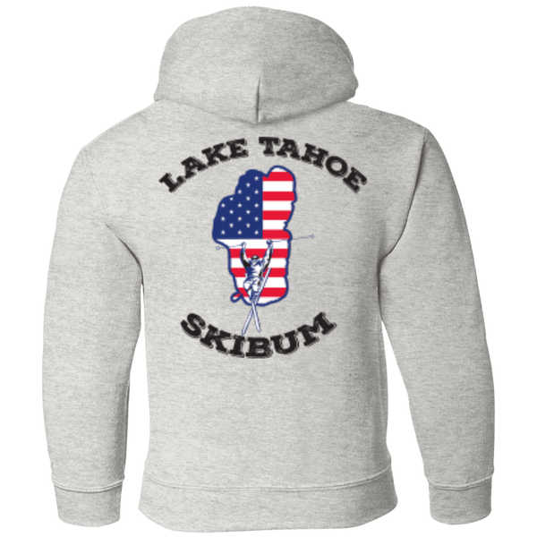 Lake Tahoe Ski Bum - Black Text - Youth Collection