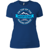 On Top Of The Mountains Where Everything Makes Sense Ladies Tees and V-Neck - Powderaddicts