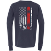 USA Snowboard Flag Youth Long Sleeves - Powderaddicts