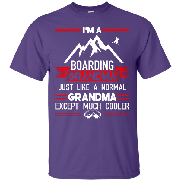 I'm A Boarding Grandma Just Like A Normal Grandma Except Much Cooler - Tees