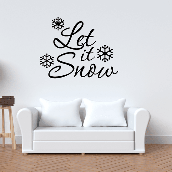 Let It Snow! 2 Wall Decal