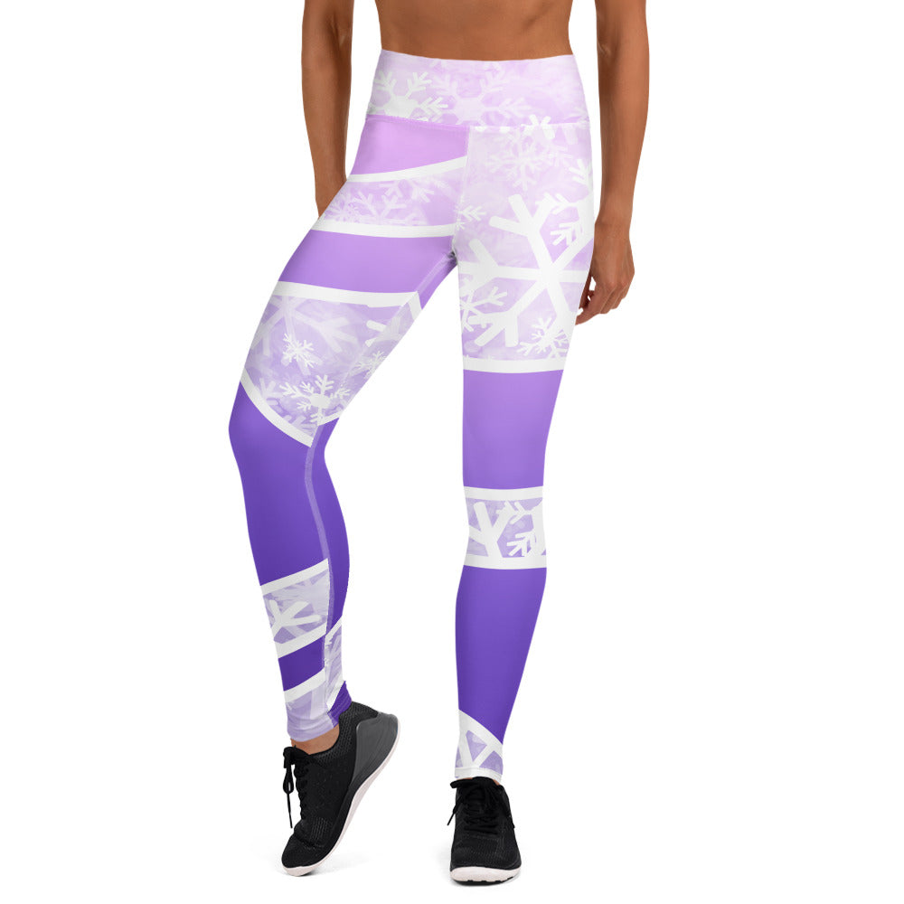 Ombre snow Yoga Leggings - Powderaddicts