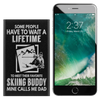 Ski Buddy Dad | Portable Phone Power Bank | 4000mah - Powderaddicts