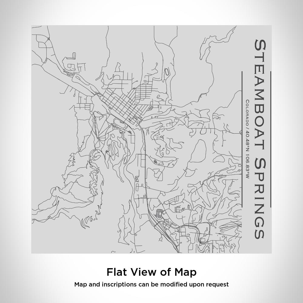 Steamboat Springs - Colorado Map Tumbler