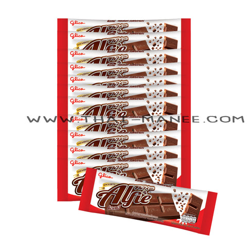 ALFIE CHOCOLATE BAR 31 G 12 ชิ้น