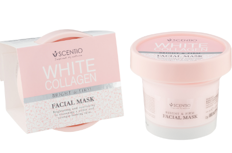 White Collagen Bright&Firm Facial Mask