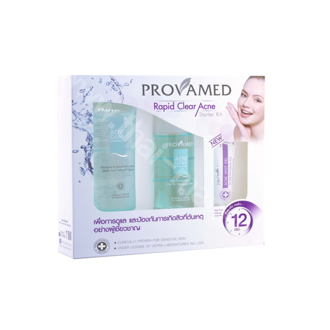 Provamed Rapid Clear Acne Starter Kit