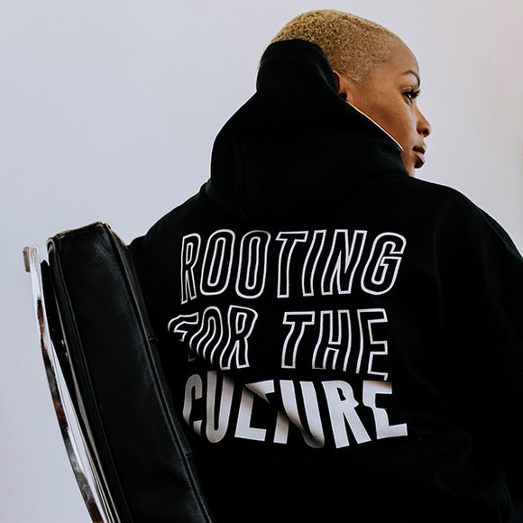 rooting for the culture unisex hoodie