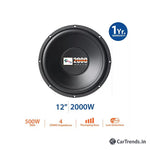 myTVS TSW-77 12 Inch 2000W Powerful Sub-Woofer