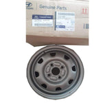 Hyundai Accent Silver Wheel Rim 529101A000 - CarTrends