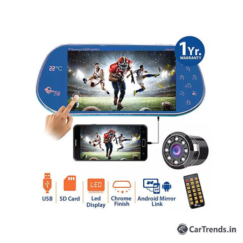 myTVS TRV-67T 7 inches Car Rear View Full HD Touch Screen