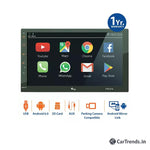 "myTVS TAV-61 7"" Full Touch Double Din Audio/Video Android Car Media Player"