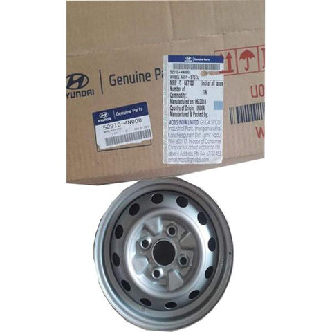 Hyundai Eon Wheel Rim Silver 529104N000 - CarTrends