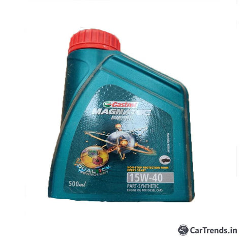 Castrol 15W 40- 500 ML Synthetic Engine Oil for Diesal Cars