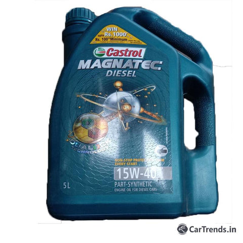 Castrol synthetic engine Oil  5LTRS  15W40