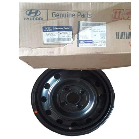 Hyundai I10 Wheel Rim Black 529100X055 - CarTrends