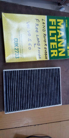 AC filter Land Rover MANN CUK2733