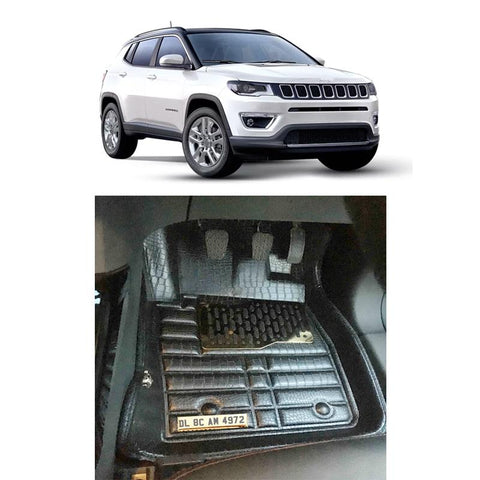 Jeep Compass Personalised 5D Car Mat