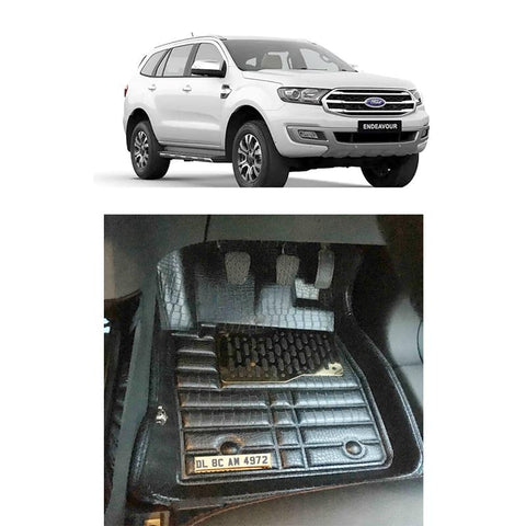 Ford Endeavour Personalised 5D Car Mat