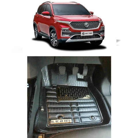 MG Hector Personalised 5D Car Mat