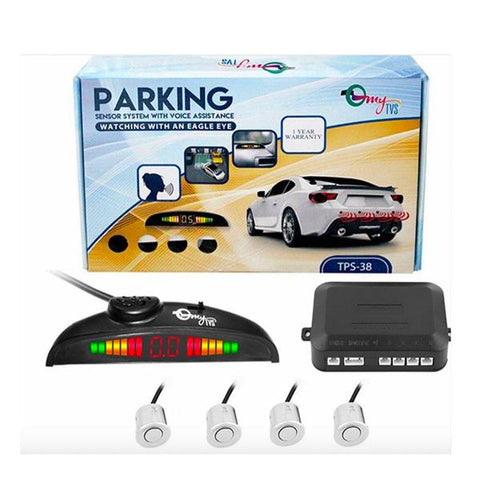 Reverse Parking Sensor With LED Indicator - CarTrends