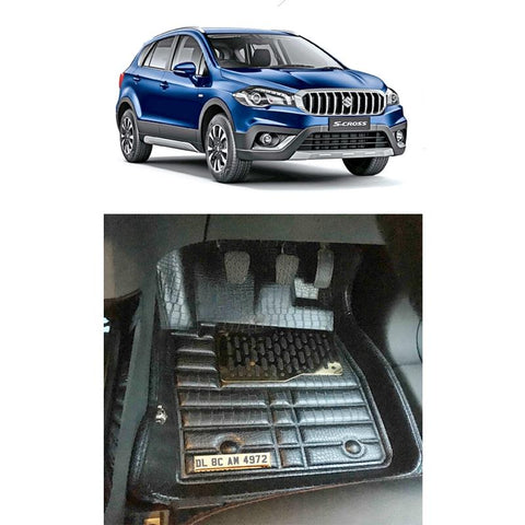 Maruti S-Cross Personalised 5D Car Mat
