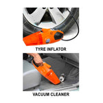 2 in 1 Tyre Inflator and Vacuum Cleaner - CarTrends