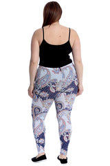 Paisley Print Leggings