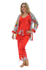 9016 Red Polka Dot Nightwear