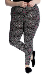 Moroccan Mirror Print Leggings