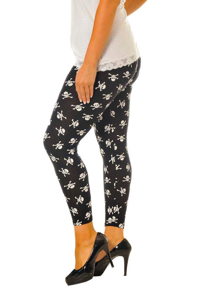 Pirate Skull Leggings